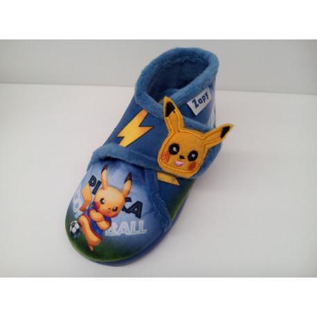 Zapatilla casa pokemon